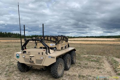 MIRA VIKING 6x6 Unmanned Ground Vehicle (UGV)